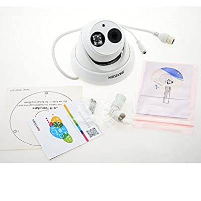 Hikvision 3MP Outdoor PoE Network Mini Dome IP Camera DS-2CD2332-I 2.8mm Lens Day Night ONVIF H.264 English Version...