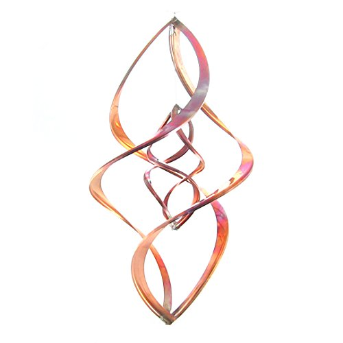 "Double Infinity Copper Wind Spinner (20"")"