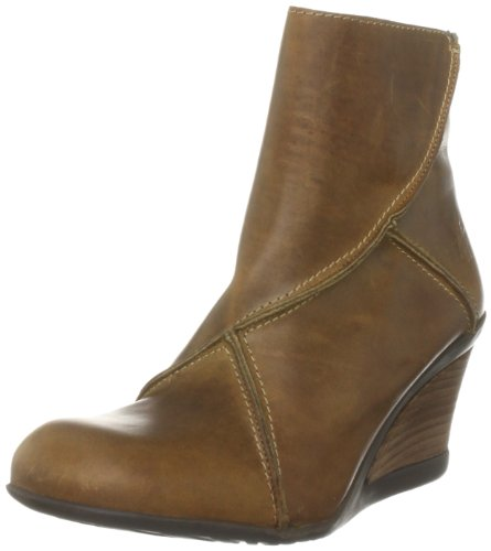 Fly London Women's Jase Camel Wedges Boots P142003000 5 UK
