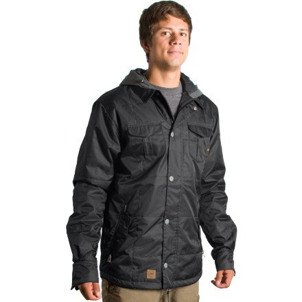 L1 Rambler Jacket - Men's Black Flight Satin, XL