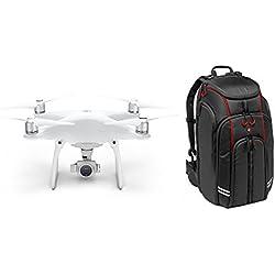 Brand New DJI Phantom 4 Drone 4K-Kamera mit Manfrotto D1 Rucksack für DJI Phantom