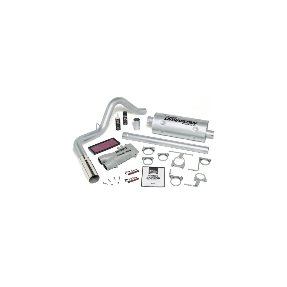 Banks Power 49254 Stinger System; Performance System; Incl. Banks Ram Air Intake/Monster Exhaust; Single;