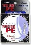 東レフィッシング(TORAY) ソラローム スーパーエギング PE 100m ホワイト 1.2号/18lb