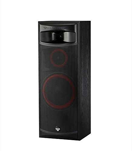 Cerwin-Vega Xls-12 3-Way Home Audio Floor Tower Speaker (Each, Black)