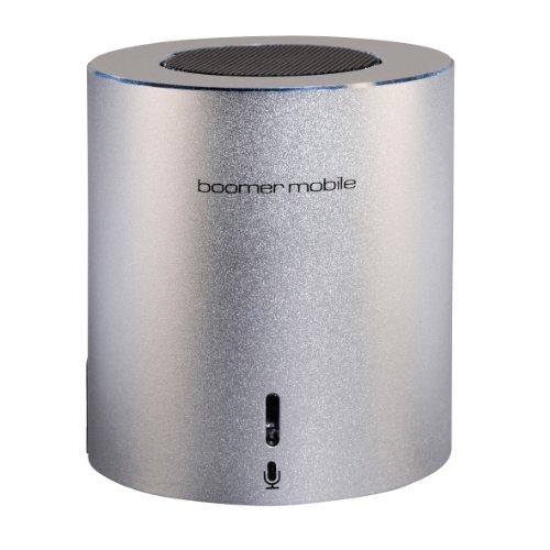 Ultron Aktivbox Boomer tragbarer Bluetooth Lautsprecher (2 Watt) silber