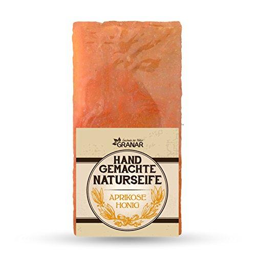 95g main savon naturel abricot et miel
