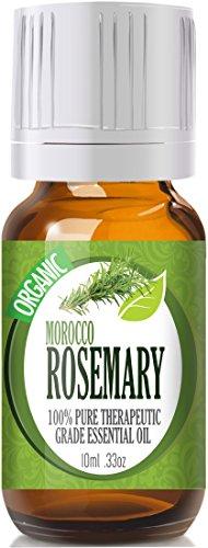 Rosemary (Organic) (Premium Morocco) 100% Pure, Best Therapeutic Grade Essential Oil - 10Ml