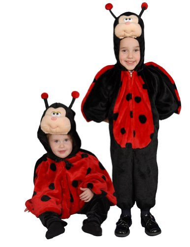 Baby-Toddler-Costume Cute Little Ladybug Toddler Costume Sz 2 Halloween Costume front-327388