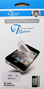 Treams Clear Screen Guard for Samsung Galaxy Note 3 N9000