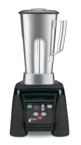 Waring Commercial MX1100XTS Hi-Power Electronic Keypad Blender with Timer and Stainless Steel Container, 64-Ounce