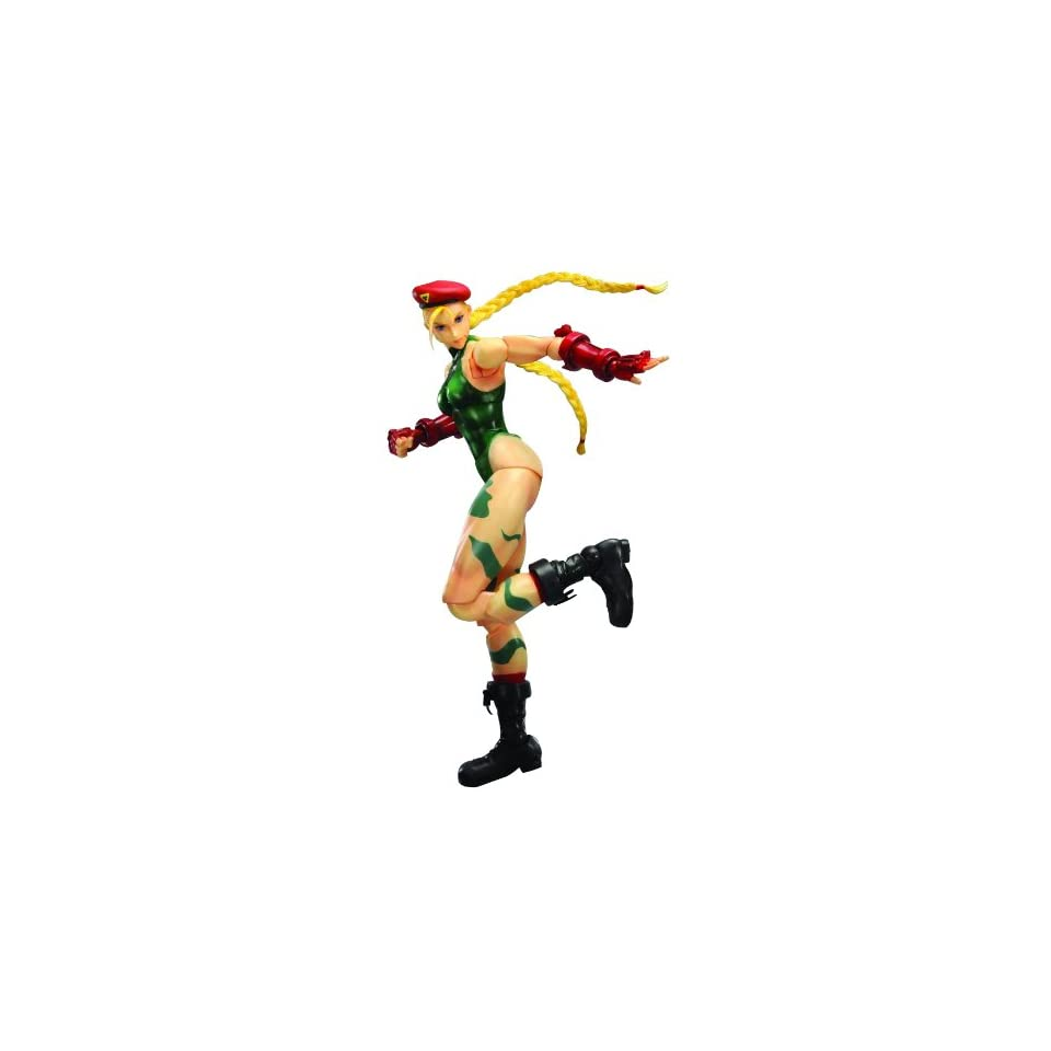 Square Enix Street Fighter IV Play Arts Kai Cammy Action Figure