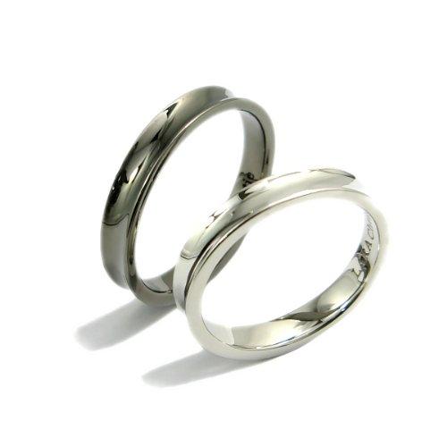 LARA Christie ララクリスティー 指輪 ダカーポ ペアリング [ PAIR Label ] R6024-P WH7号/BK21号