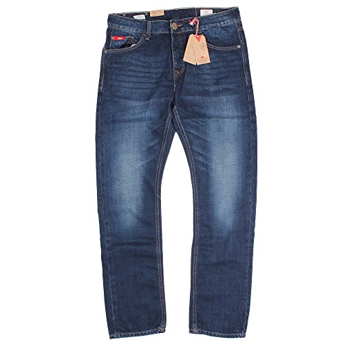 Lee Cooper -  Jeans  - Straight  - Uomo Dark Blue 30W x 34L