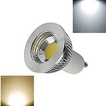 1 pcs GU10 6W 1X COB 1100LM 2800-35006000-6500K Warm WhiteCool White Spot Lights AC 220V  180161227