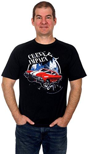 Chevy Impala '60s Muscle Machine Mens Shorts Sleeve T-Shirt (X-Large)