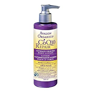 Avalon Organics Ultimate Firming Body Lotion, CoQ10, 8-Ounces (Pack of 2) from Avalon