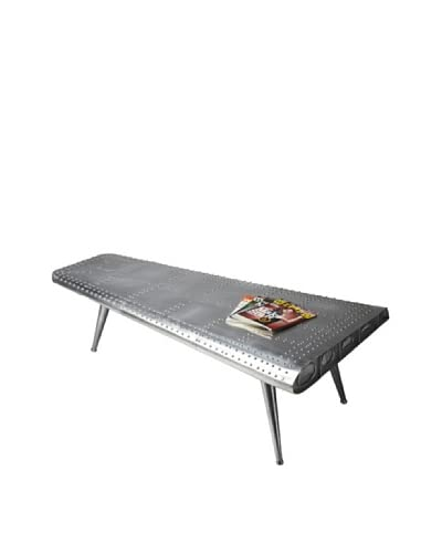 Butler Specialty Company Metalworks Cocktail Table, Silver