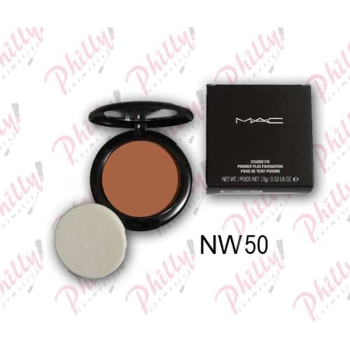 Amazon.com : MAC Studio Fix Powder Plus Foundation NW50 Net Wt. 0.52