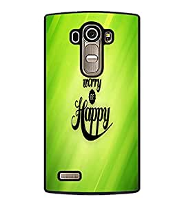 PrintDhaba Quote D-2682 Back Case Cover for LG G4 (Multi-Coloured)