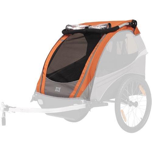 Burley Cover for Solo Bike Trailer, Orange (Burley Bike Trailer Solo compare prices)