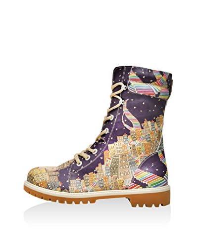 Dogo Botas de cordones Multicolor