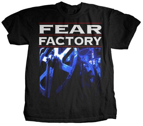 Fear Factory -T-shirt  Uomo    nero small