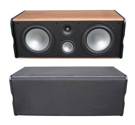 Premier-Acoustic-PA-8Center-Channel-Speaker-Cherry