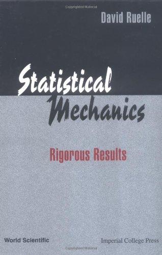 Statistical mechanics. Rigorous results
