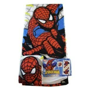 Marvel Spider-Man Towel Set - 2-Piece Spiderman Bath Set