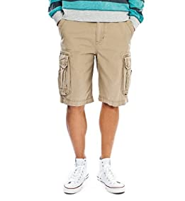 Survivor Cargo Shorts-Desert