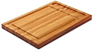 Snow River Cherry Carving and Board with Juice Groove and Tool Groove, 14-Inch by 21-Inch by 1-1/4-Inch