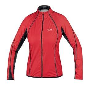 Gore Running Wear Windstopperjacke WINDSTOPPER® Active Shell Pulse AS LADY Jacke - weiß, schwarz (white/black), Gr. 42