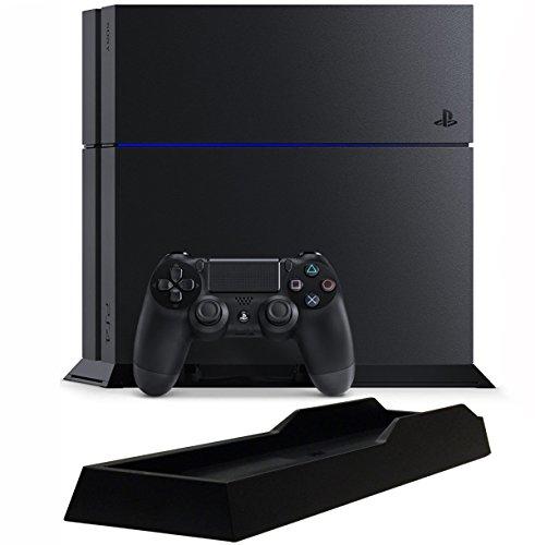 PlayStation 4 ジェット・ブラック (CUH-1200AB01) 【Amazon.co.jp限定特典】アンサー PS4用縦置きスタンド付
