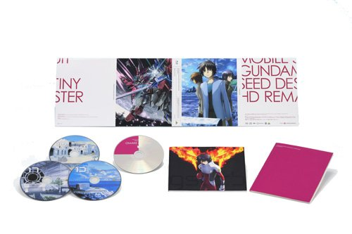 機動戦士ガンダムSEED DESTINY HDリマスター Blu-ray BOX (MOBILE SUIT GUNDAM SEED DESTINY HD REMASTER Blu-ray BOX) 4 初回限定版 (Limited Ed.)