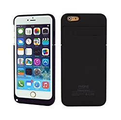 iPhone 6 Plus Battery Charger Case, Phone Charger Case ® - 4800 mAh External Rechargeable Protective / iPhone 6 Plus Charger Case / iPhone 6 Plus Charging Case Extended Battery Backup Battery Pack / iPhone 6 Plus Power Case / iPhone 6 Plus USB Juice Bank / iPhone 6 Plus Portable Charger Case