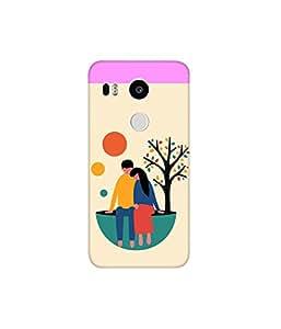 KolorEdge Printed Back Cover For LG Nexus 5X Multicolor - (8412-Ke10382Nexus5XSub)