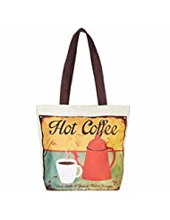 The House Of Tara Tinplate Print Handbag (Multicolour)
