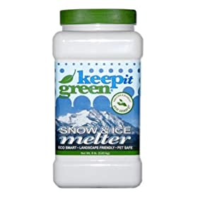 Keep it Green KIG8 Snow & Ice Melter - 8 Pound Jug