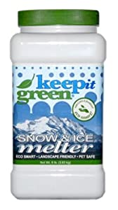 Keep It Green KIG8 Snow & Ice Melter - 8 Pound Jug (Discontinued by Manufacturer)