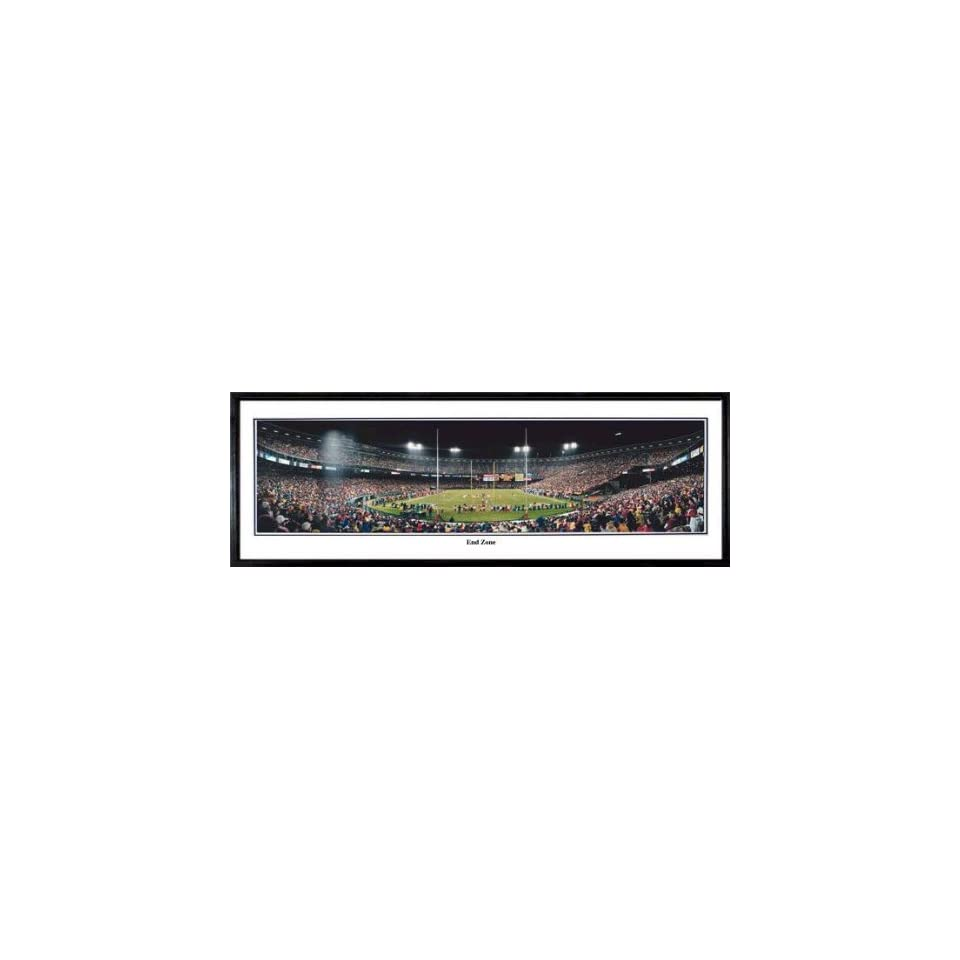San Francisco 49ers Football Team End Zone Panoramic NFL Stadium Poster From the Rob Arra Collection