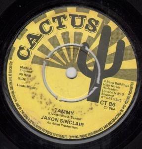 "TAMMY/STONESFIELD 7 INCH ( 7"" VINYL 45) UK CACTUS 0"