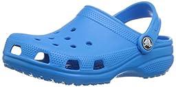 crocs Kid\'s Classic Clog 10006,Ocean,C10C11 Little Kid