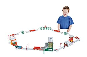Fisher-Price Thomas The Train Holiday Train Set with Motorized Talking Train