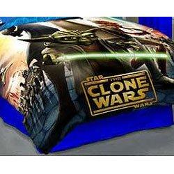 Star Wars- Clone Wars Comforter - Twin