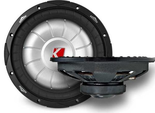 Kicker Compvt 07Cvt124 12-Inch 300Mm 4-Ohm Svc Subwoofer