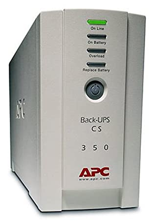 Ondulateur Back-UPS APC BACKUPS CS350VA NOIR 350VA
