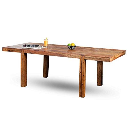 MODERNER-ESSTISCH-SHEESHAM-120-200-cm-Massivholz-Sheesham-Holztisch-mit-Ansteckplatten