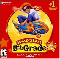 New Knowledge Adventure Jump Start 5th Grade Compatible With Windows 2000/Xp/Vista