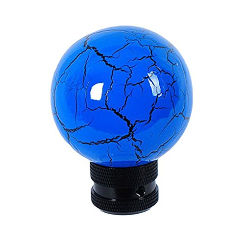 Eternalpower Personalized Car Shift Knob Originality Resin Material Blue Thunder Ball With Black Line Stick Shifter Knob Lever (Blue Gear Shifter compare prices)