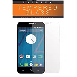 Ascari For Micromax Yu Yutopia Tempered Glass Protector High Definition Premium ( 0.25 mm Curved 2.5 D )